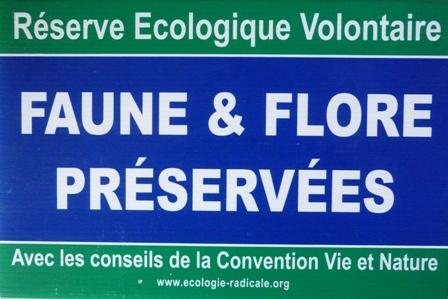Panneau REV - Nature préservée